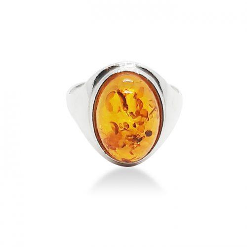 Genuine Baltic Amber Ring 242