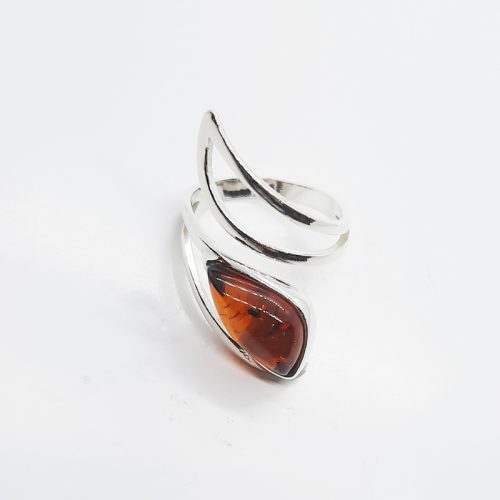 Genuine Baltic Amber Ring 243