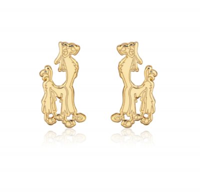 Disney The Emperor's New Groove Kuzco Llama Stud Earrings