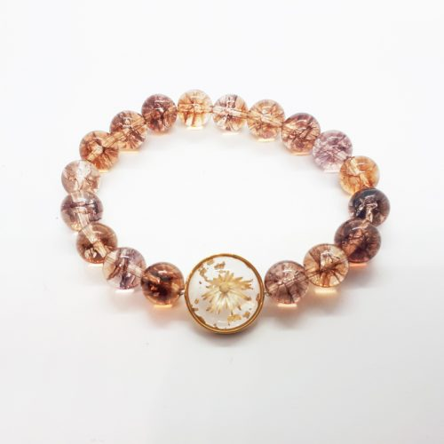 BOTANIGEM Solis Cracked Quartz Bracelet