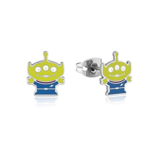 Disney Pixar ECC Toy Story Alien Stud Earrings