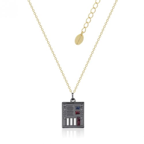 Star Wars Darth Vader Control Necklace Yellow Gold