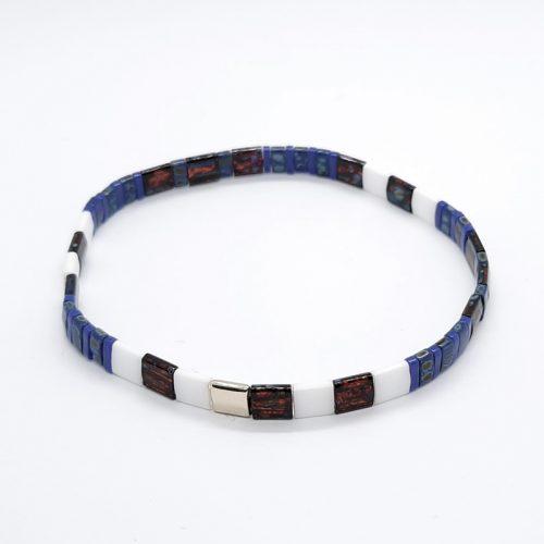 Ceramic Tile Bracelet 025