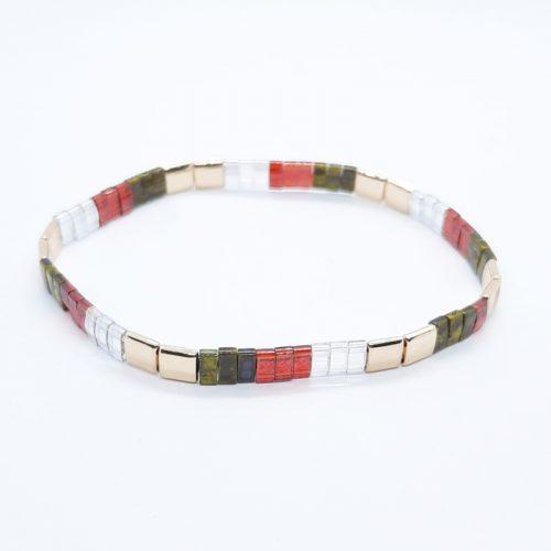 Ceramic Tile Bracelet 027