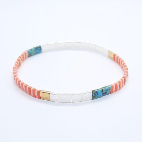 Ceramic Tile Bracelet 029