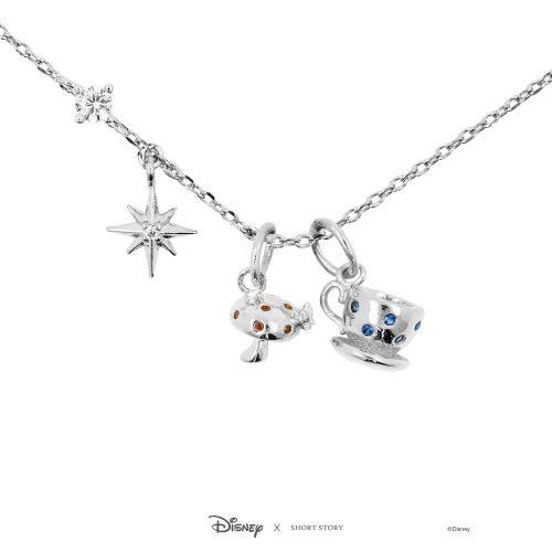 Disney Alice in Wonderland Charm Necklace