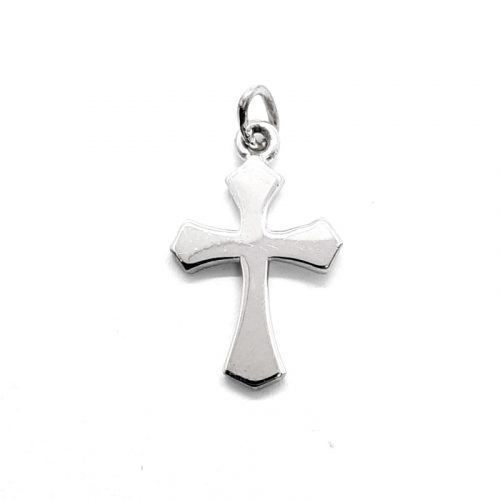 Silver Small Cross Pendant