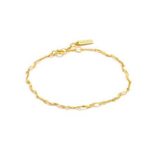 Gold Helix Bracelet