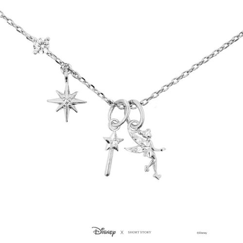 Disney Tinker Bell Charm Necklace