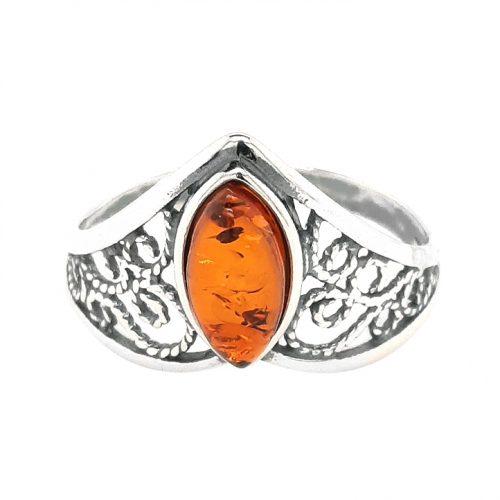 Genuine Baltic Amber Ring 279