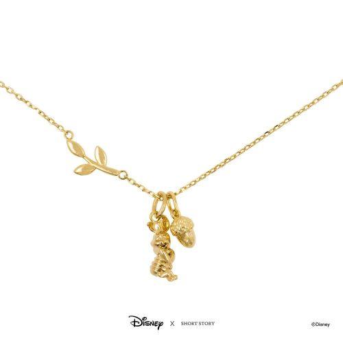 DISNEY NECKLACE PIGLET GOLD