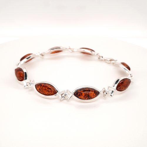 Genuine Baltic Amber Bracelet 264