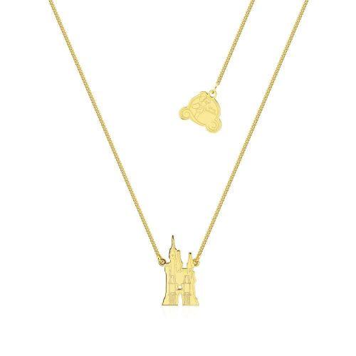 Cinderella Castle Necklace Yellow Gold