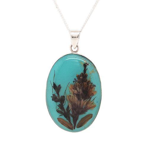 Antique Nostalgia Necklace Turquoise